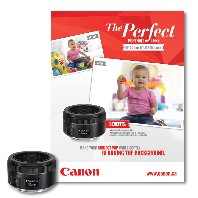 Canon Canada T-Stand for In-Store