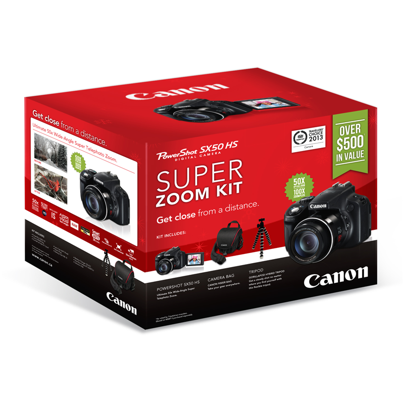 Canon Canada Package Design