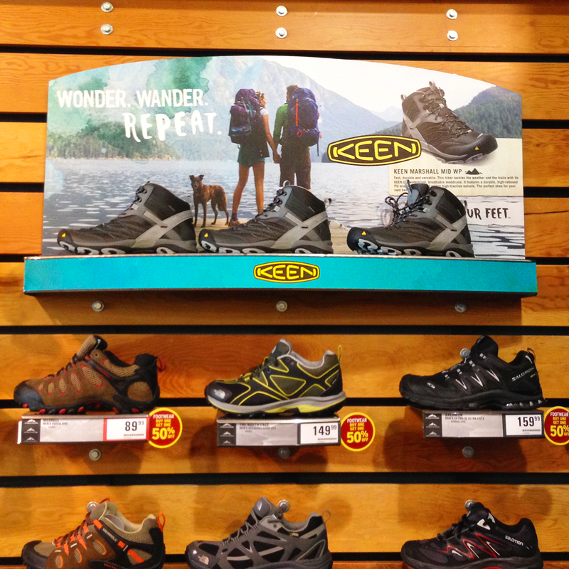 KEEN Canada - In-Store Graphics