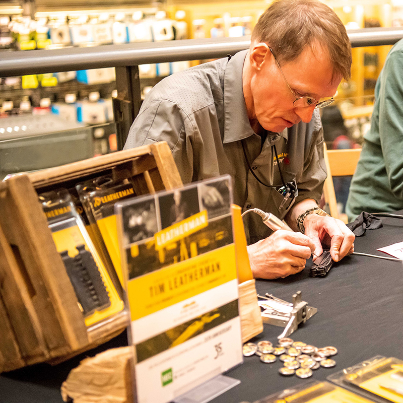 Retail Event at MEC with Leatherman Brand
