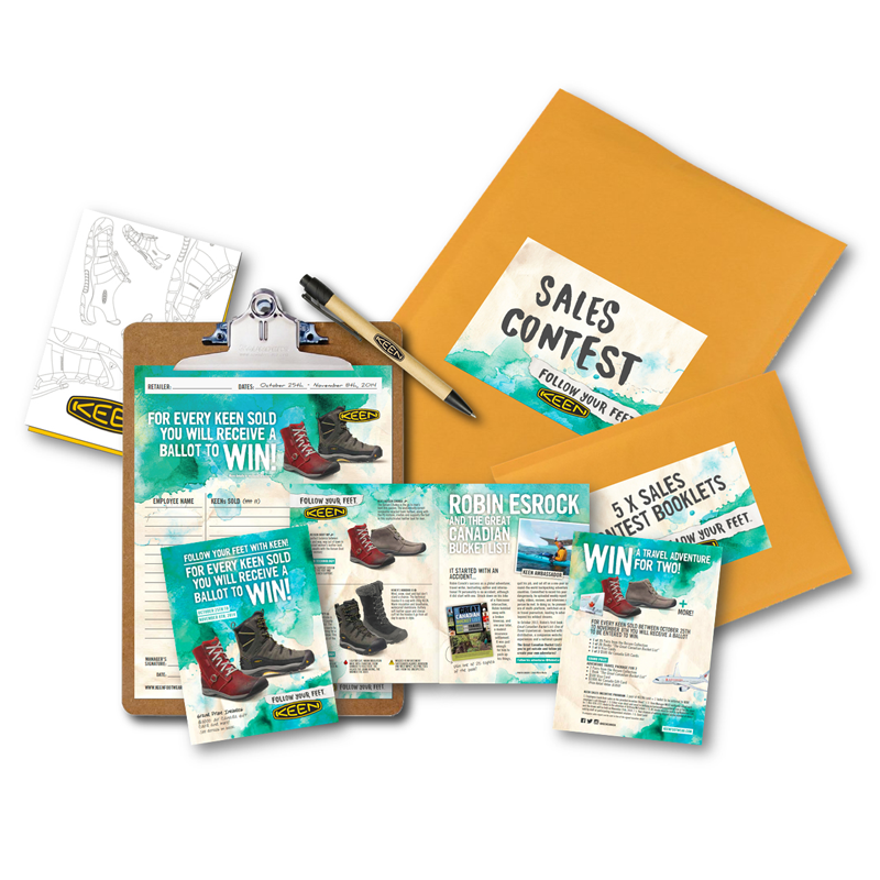 National Staff Sales Contest Kit